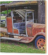 Old Timer Wood Print by Garry Gay