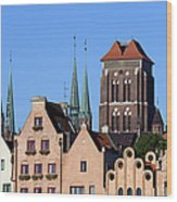 Old Town In Gdansk Wood Print