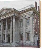Old Town Philadelphia Iv Wood Print