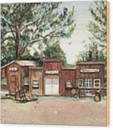 Old Town Wolford Heights Wood Print