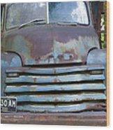 Old Truck I Wood Print