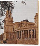 Old Victoria Wood Print