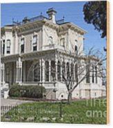 Old Victorian Camron-stanford House . Oakland California . 7d13445 Wood Print
