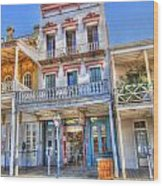 Old West Architecture Wood Print