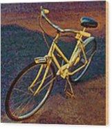 Old Yellow Wood Print