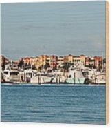 Olde Naples Seaport Wood Print