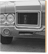 Olds C S In Black And White Wood Print
