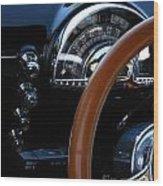 Oldsmobile 88 Dashboard Wood Print