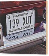Oldsmobile Rocket 88 Wood Print