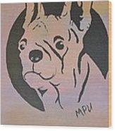 Ole Fella Wood Print