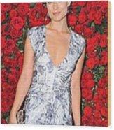 Olivia Wilde Wearing A Narciso Wood Print