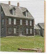 Olson House Wood Print