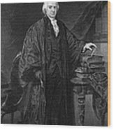 Olvier Ellsworth (1745-1807). Chief Justice Of The United States Supreme Court, 1796-1799. Steel Engraving, 1863 Wood Print