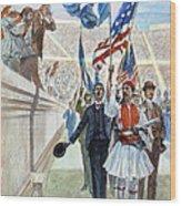 Olympic Games, 1896 Wood Print