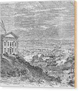 Omaha, Nebraska, 1869 Wood Print