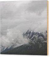 Ominous Clouds Wood Print
