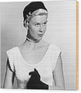 On Moonlight Bay, Doris Day, 1951 Wood Print