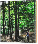 On Our Way Chasing The Eternal Flame At Chestnut Ridge Park Wood Print