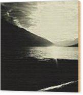 On The Edge Of Drift Wood Print