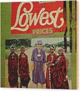 On The Lowest Prices Shopping Wood Print