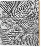 One 16 Wood Print