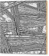 One 22 Wood Print