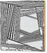 One 23 Wood Print