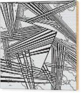 One 25 Wood Print