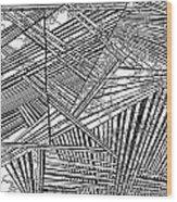 One 36 Wood Print