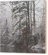 One Alabama Christmas Wood Print