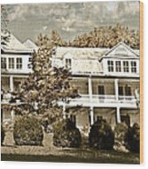 One Hundred Year Old Mountain Inn Wood Print