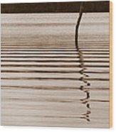 One Miss Stake Wood Print