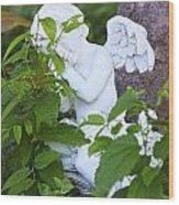 One Of God's Angels Wood Print