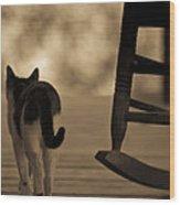 One Saturday Afternoon Wood Print