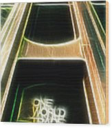 One World Trade Center Wood Print by Paul Ward