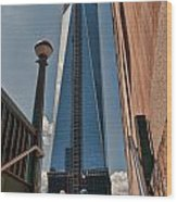 One Wtc First Look Wood Print