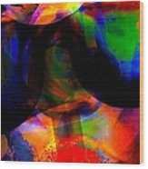 Only You Can See Me Wood Print by Fania Simon