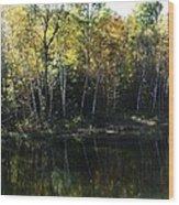 Ontario Colors Wood Print