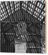 Open Air Barn Wood Print
