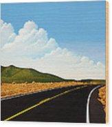Open Road Wood Print