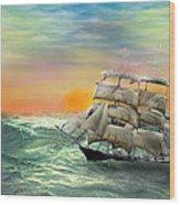 Open Seas Wood Print