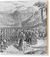 Opera: Grand Duchess, 1867 Wood Print by Granger