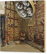 Operating Room - Eastern State Penitentiary Wood Print