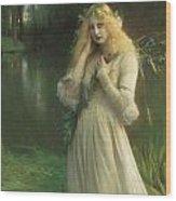 Ophelia Wood Print