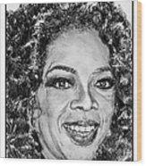 Oprah Winfrey In 2007 Wood Print