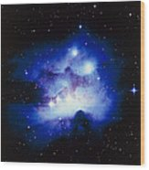 Optical Image Of The Nebula Ngc 1977 In Orion Wood Print