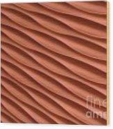 Orange Artistic Background Wood Print