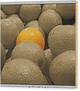 Oranges S.c.  Wood Print
