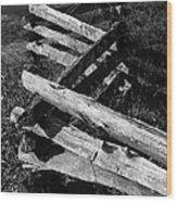 OrchardFence Wood Print