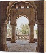 Orchha's Palace India Wood Print